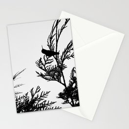 the thoughtful hummingbird Stationery Cards