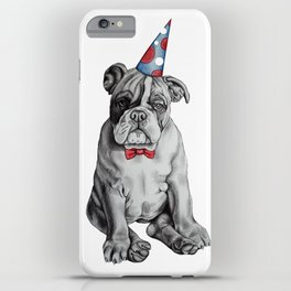 Party Dog iPhone Case
