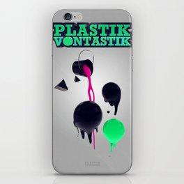 Plastik Vontastik - The Paint iPhone Skin