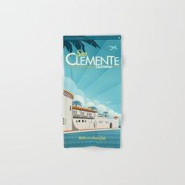 San Clemente Ole Hanson Beach Club Hand & Bath Towel