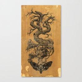 Tree of Death  Canvas Print