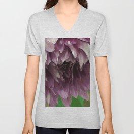 Droopy Lavender Flower Unisex V-Neck
