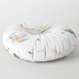 beach XXI Floor Pillow