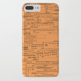 Designer Dialogues AI Yellow iPhone Case