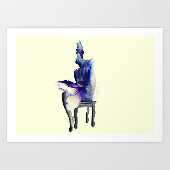 I don't bow down to you. Art Print