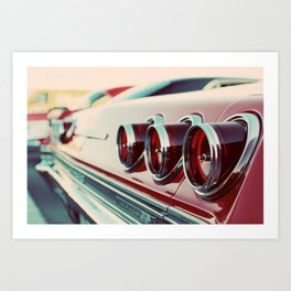 Taillights Art Print