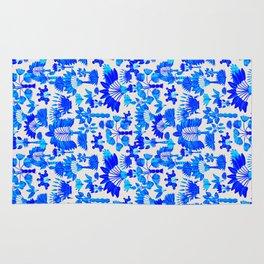 Exotic Garden Blue Rug