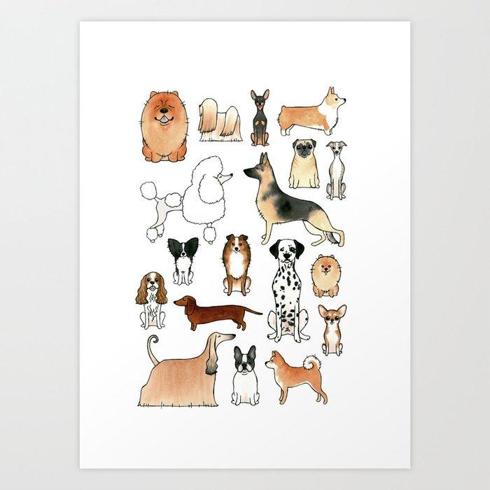 Dogs Kunstdrucke