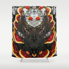 Another Fire Shower Curtain