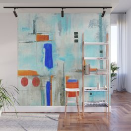 Nautical Intentions, Abstract Art Painting Wall Mural