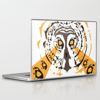 psych Laptop & iPad Skins featuring Psych Owl by T Dupuis