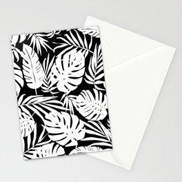 Urban Jungle Black Stationery Cards