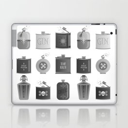 Flask Collection – Black Palette Laptop & iPad Skin
