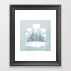 Winter Wonderland Framed Art Print