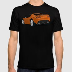 Lotus Elise Mens Fitted Tee MEDIUM Black
