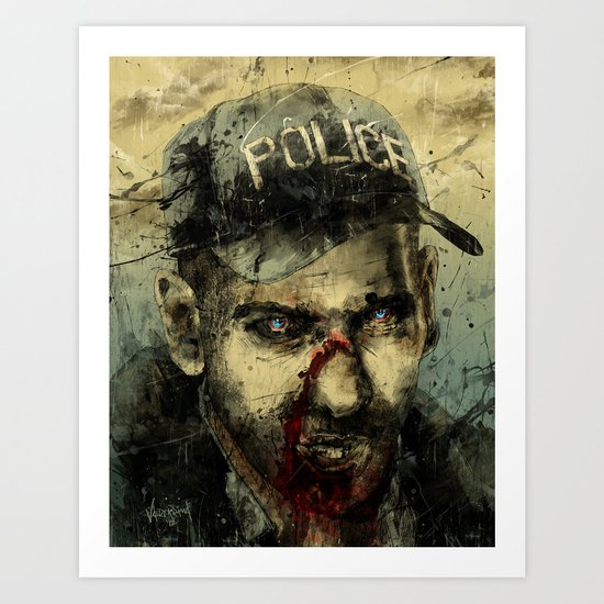 Lame Brain Shane Art Print
