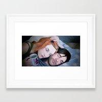 eternal sunshine Framed Art Prints featuring Eternal Sunshine by Giulia Mariella