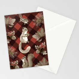 Squirreling Stationery Cards
