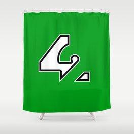 42 - Green Shower Curtain