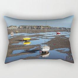 Low Tide at Teignmouth Rectangular Pillow