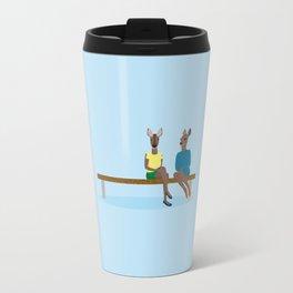 Two friends Travel Mug