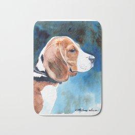 Bonny Beagle Bath Mat