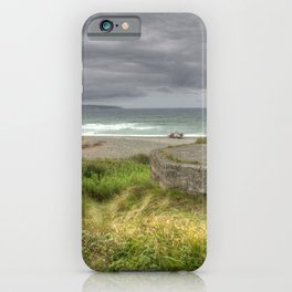 Gwithian Pill Box Seascape iPhone Case