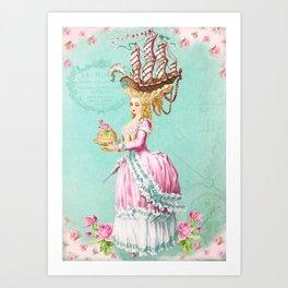 Marie Antoinette Liberté Art Print