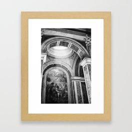 HEAVENLY. Framed Art Print