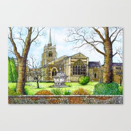 Chelmsford Cathedral, UK Canvas Print