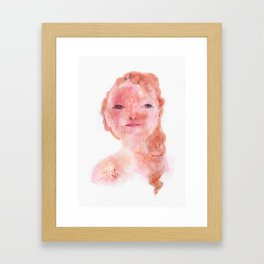 La matelot Framed Art Print