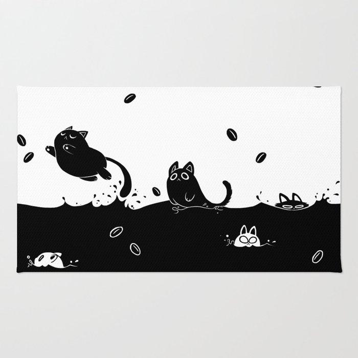 Coffee Cats Rug