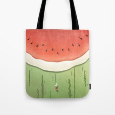 Fleshy Fruit (Watermelon) Tote Bag