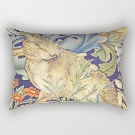 Detail from The Forest by William Morris Rectangular Pillow