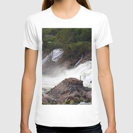Mekong River Li Phi Waterfalls, Laos T-shirt