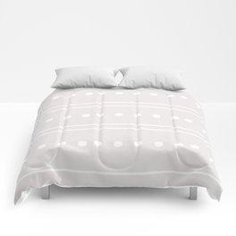 Minimal Geometric Stone Pattern Comforters