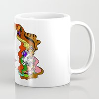 redhead Mugs featuring redhead by Elisabeth Wolfgram