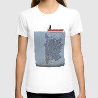 gladiator T-shirts featuring FISH by karakalemustadi