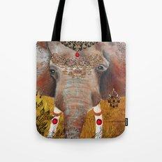 Gilded Elephant of Jaipur Tote Bag