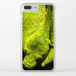 The good Listener Clear iPhone Case