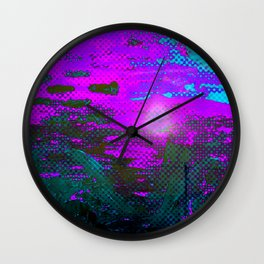 The Drowning Sun Wall Clock