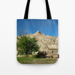 Rugged Landscape Tree Tote Bag