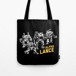 Alpha Lance Tote Bag
