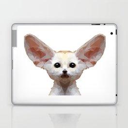 Geometrical Polygon Exotic Pet Fennec Fox Laptop & iPad Skin