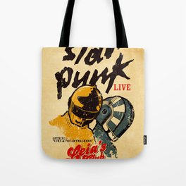 Star Punk Tote Bag