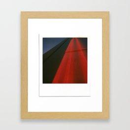 Neon Highway Framed Art Print