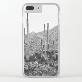 A Gathering of Cacti, No. 2 Clear iPhone Case
