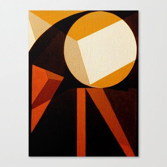 Jaburu (Jabiru) Canvas Print