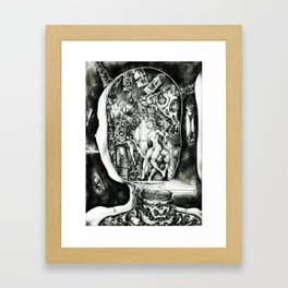 Concentric Sub-Levels Of Reality Framed Art Print