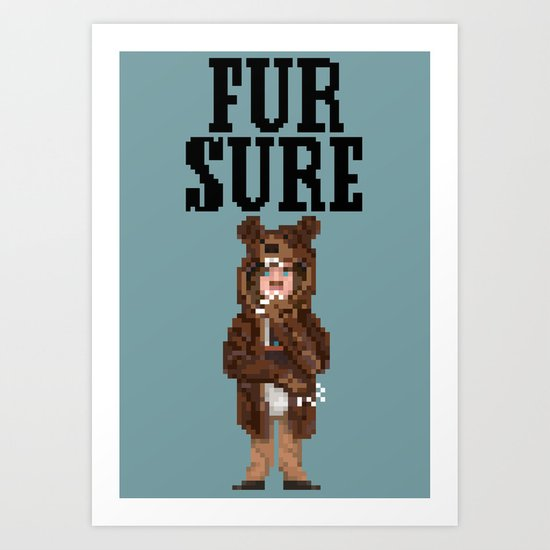Fur Sure Art Print